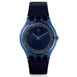 Swatch Women's Watch New Gent Blusparkles SUON134
