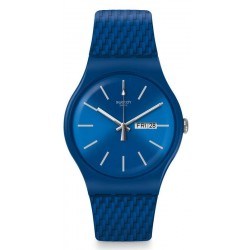 Swatch Unisex Watch New Gent Bricablue SUON711