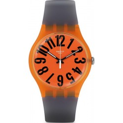 Swatch Unisex Watch New Gent Larancio SUOO103