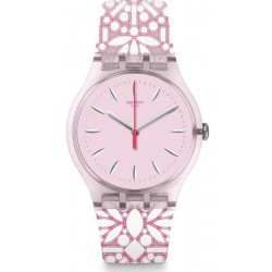 Swatch Women's Watch New Gent Fleurie SUOP109