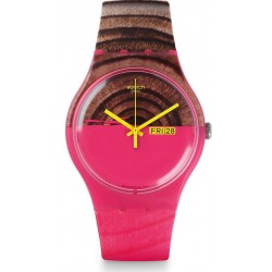 Swatch Women's Watch New Gent Woodkid SUOP703