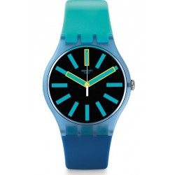 Swatch Unisex Watch New Gent Flashwheel SUOS105