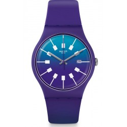 Swatch Unisex Watch New Gent Crazy Sky SUOV400