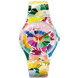 Swatch Women's Watch New Gent Flowerfool SUOW126