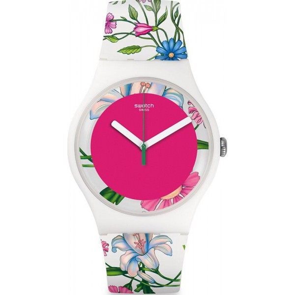 Buy Swatch Women's Watch New Gent Fiorinella SUOW127