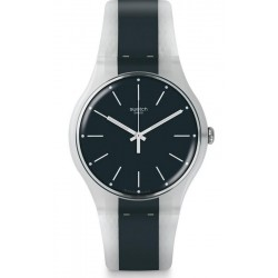 Swatch Unisex Watch New Gent Greyline SUOW142