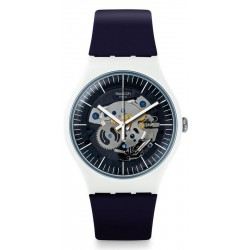 Swatch Men's Watch New Gent Siliblue SUOW156