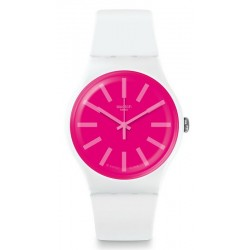 Swatch Unisex Watch New Gent Strawbeon SUOW162