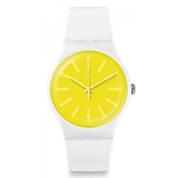 Buy Swatch Unisex Watch New Gent Lemoneon SUOW165