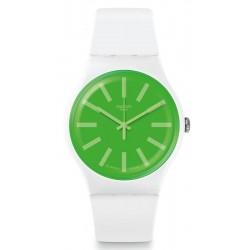 Swatch Unisex Watch New Gent Grassneon SUOW166