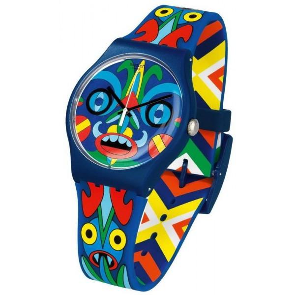 Buy Swatch Mika Unisex Watch New Gent Kukulakuku SUOZ171
