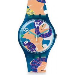 Buy Swatch Unisex Watch New Gent The Goat's Keeper SUOZ189