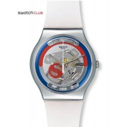 Swatch Club Unisex Watch New Gent This Is My World SUOZ195