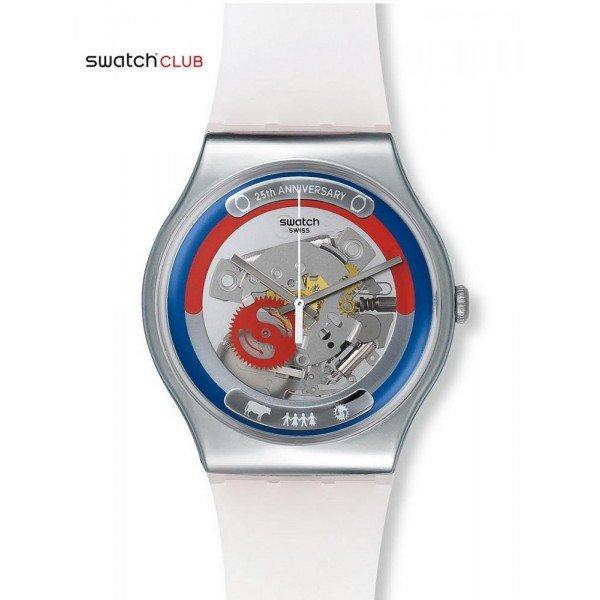 Buy Swatch Club Unisex Watch New Gent This Is My World SUOZ195