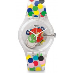 Swatch Women's Watch New Gent Spot The Dot SUOZ213