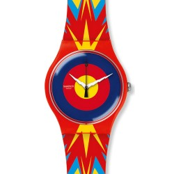 Swatch Jovanotti Unisex Watch New Gent Jova Time SUOZ220