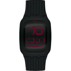 Swatch Men's Watch Digital Touch Night SURB102