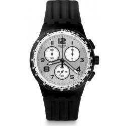 Swatch Men's Watch Chrono Plastic Nocloud SUSB103