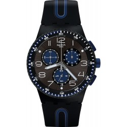 Swatch Men's Watch Chrono Plastic Kaicco SUSB406