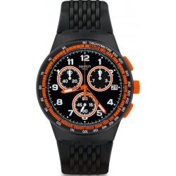 Buy Swatch Men's Watch Chrono Plastic Nerolino SUSB408