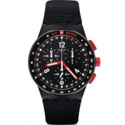 Swatch Men's Watch Chrono Plastic Stand Hall SUSB411