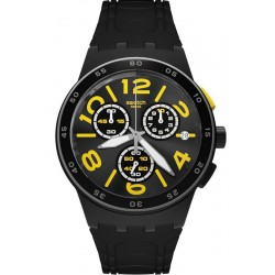 Buy Swatch Unisex Watch Chrono Plastic Pneumatic SUSB412