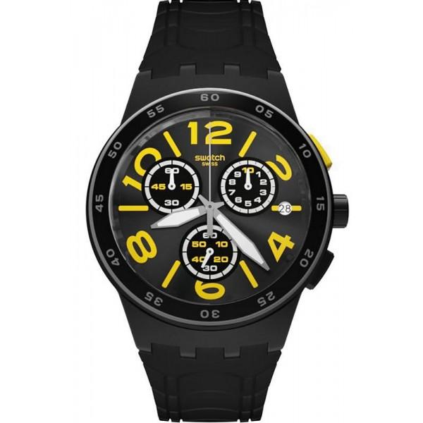 Buy Swatch Unisex Watch Chrono Plastic Pneumatic SUSB412