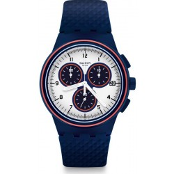 Buy Swatch Men's Watch Chrono Plastic Parabordo SUSN412