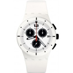 Swatch Unisex Watch Chrono Plastic Why Again SUSW406