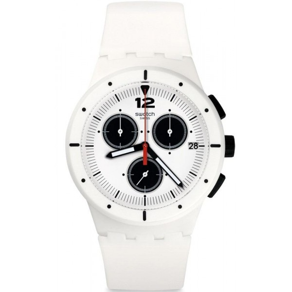 Buy Swatch Unisex Watch Chrono Plastic Why Again SUSW406