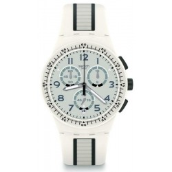 Swatch Unisex Watch Chrono Plastic Escalator SUSW408