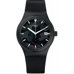Swatch Unisex Watch SUTA401 Sistem 51 Sistem Clouds Automatic