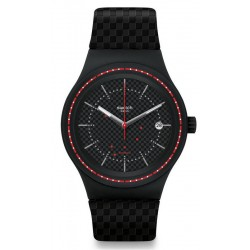 Buy Swatch Men's Watch Sistem51 Sistem Damier Automatic SUTB406