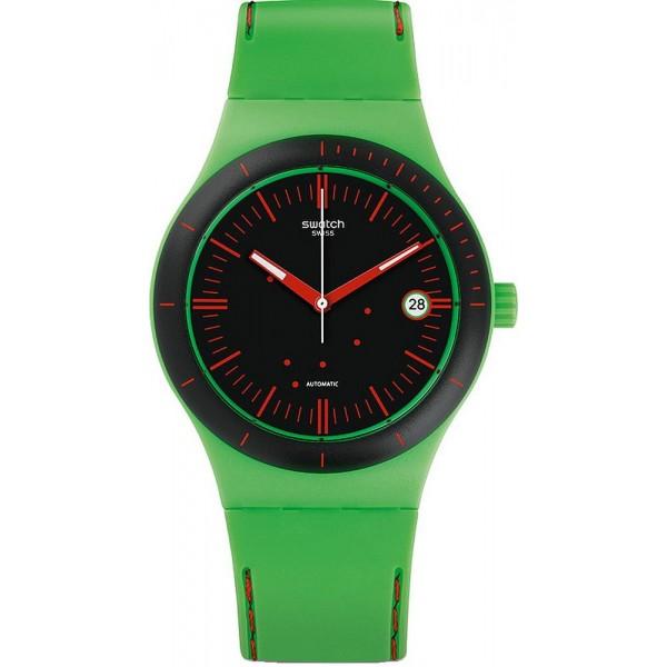 Buy Swatch Unisex Watch Sistem 51 Sistem Frog SUTG401 Automatic