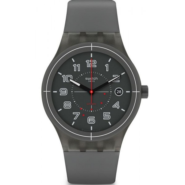 Buy Swatch Unisex Watch Sistem51 Sistem Ash SUTM401 Automatic