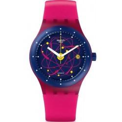 Swatch Unisex Watch Sistem51 Sistem Pink Automatic SUTR401