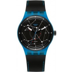 Swatch Unisex Watch Sistem51 Sistem Blue Automatic SUTS401