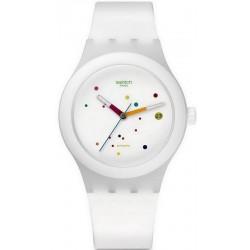 Buy Swatch Unisex Watch Sistem51 Sistem White Automatic SUTW400