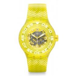 Swatch Unisex Watch Scuba Libre Lemon Profond SUUJ101