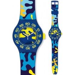 Swatch Unisex Watch Scuba Libre Out In The Wild SUUN101