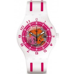 Swatch Unisex Watch Scuba Libre Feel The Wave SUUW101