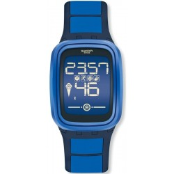Swatch Unisex Watch Digital Touch Zero One Subzero SUVN101