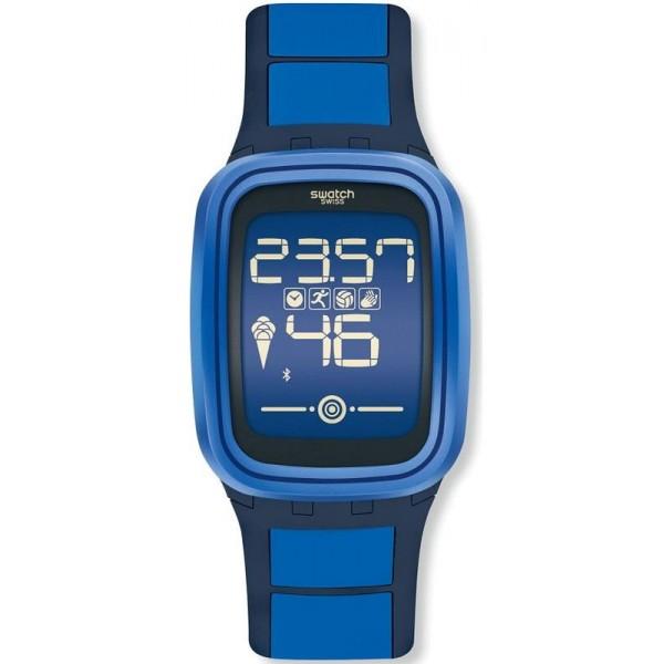 Buy Swatch Unisex Watch Digital Touch Zero One Subzero SUVN101