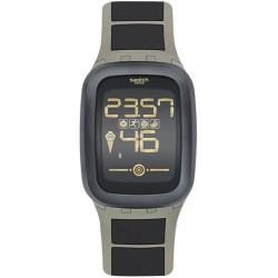 Buy Swatch Men's Watch Digital Touch Zero One Earthzero SUVT100