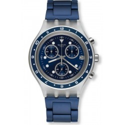 Swatch Men's Watch Irony Diaphane Be Colorful SVCK4077AG Chronograph