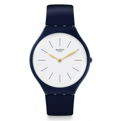 Swatch Unisex Watch Skin Regular Skinblackwall SVON102C