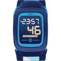 Swatch Unisex Watch Digital Touch Zero Two Nossazero2 SVQN102