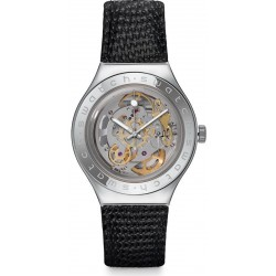 Swatch Men's Watch Irony Automatic Body & Soul Leather YAS100D