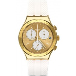 Swatch Women's Watch Irony Chrono Soukaina YCG415