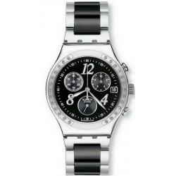 Swatch Unisex Watch Irony Chrono Dreamnight YCS485GC